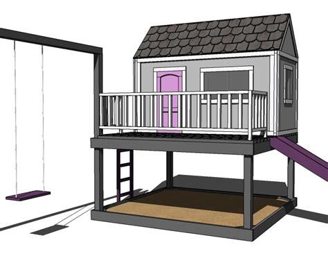 Childrens-Wood-Playhouse-Plans