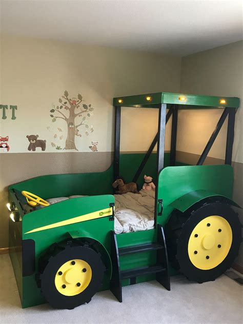 Childs Tractor Bed Plans