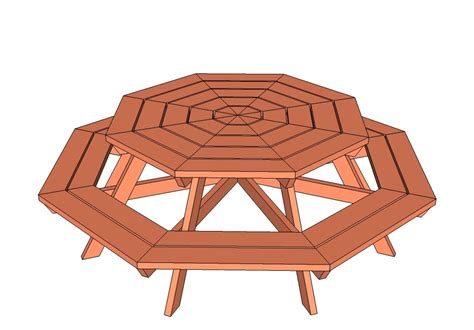 Childs-Octagon-Picnic-Table-Plans