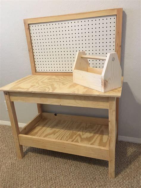 Childs-Wooden-Workbench-Diy