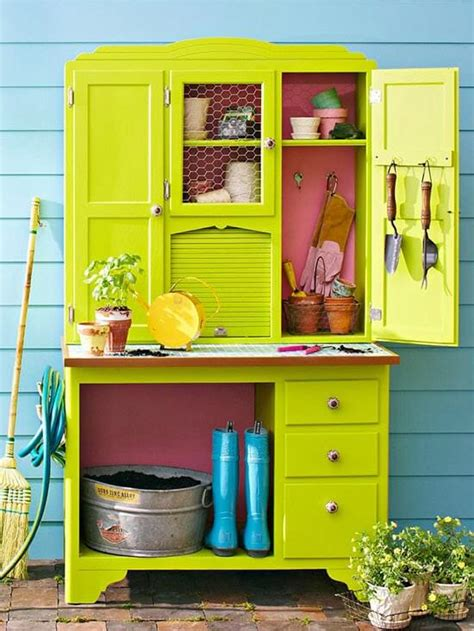 China Hutch Diy Potting Table