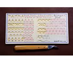 Best Chip carving patterns pdf