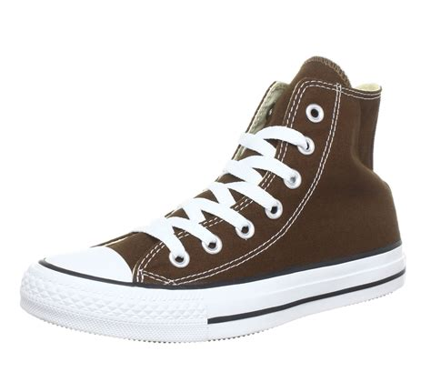 Chocolate Brown Converse Sneakers