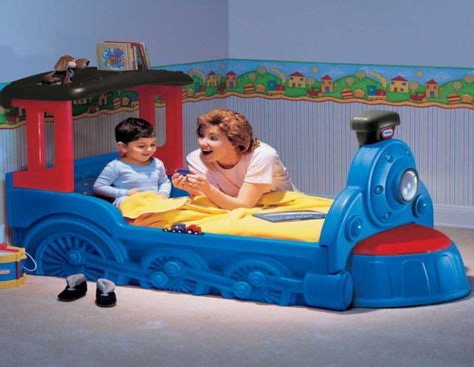 Choo-Choo-Train-Bed-Plans