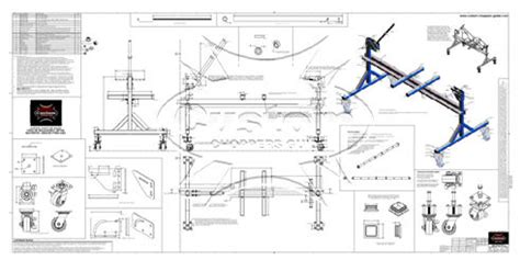 Chopper Frame Jig Plans