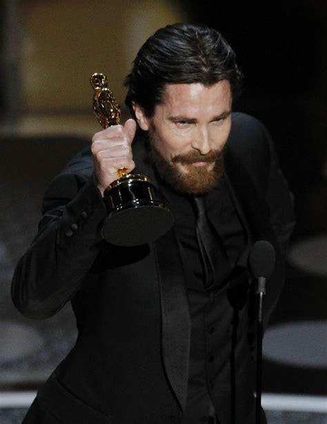 Christian Bale Wins Oscar