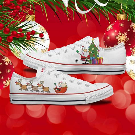Christmas Converse Sneakers
