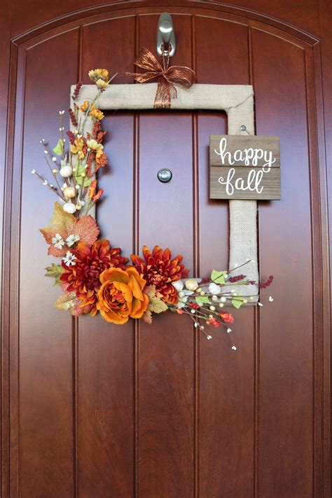 Christmas Picture Frame Wreath Diy