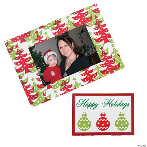Christmas Picture Magnet Frames DIY
