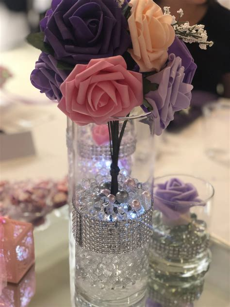 Christmas Table Centerpieces Diy For A Quinceanera
