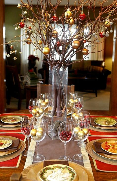 Christmas Table Ideas DIY