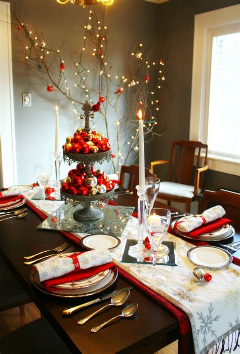 Christmas Table Ideas Images