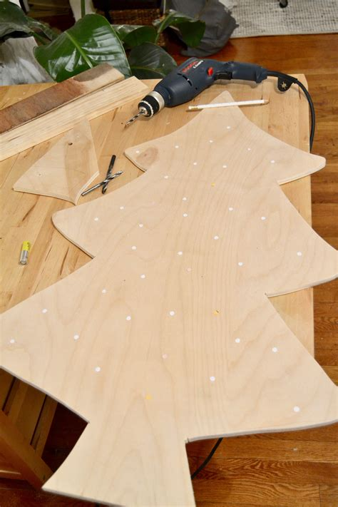 Christmas Tree Diy With Plywood