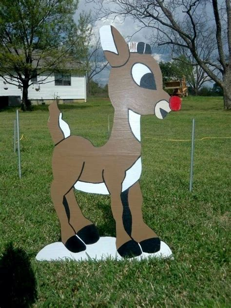 Christmas Wood Cutouts For The Yard