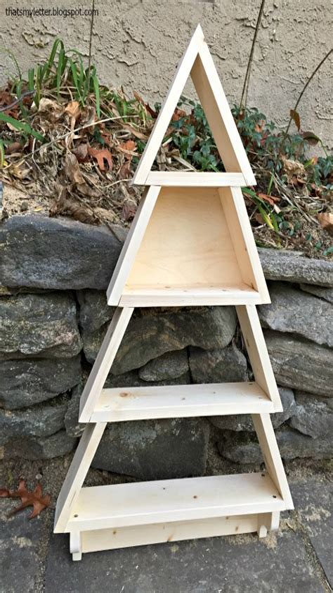 Christmas-Ladder-Shelf-Plans