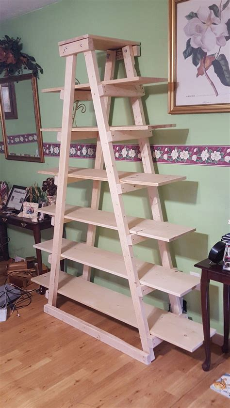 Christmas-Tree-Ladder-Shelf-Plans