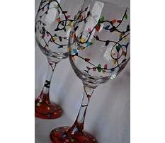 Best Christmas glass painting patterns
