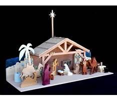 Best Christmas manger woodworking plans.aspx