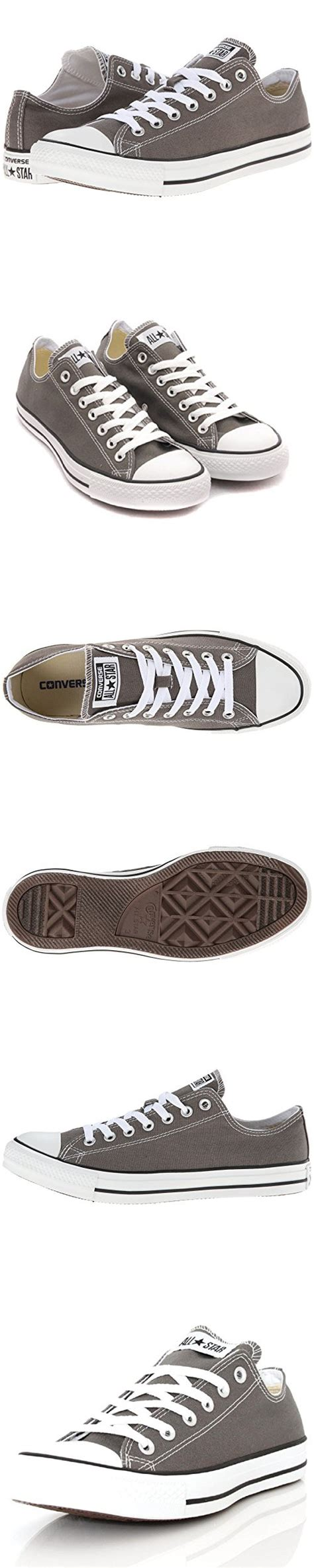Chuck Taylor All Star Core Oxford Low-top Unisex Gray (size 9 (women) us)