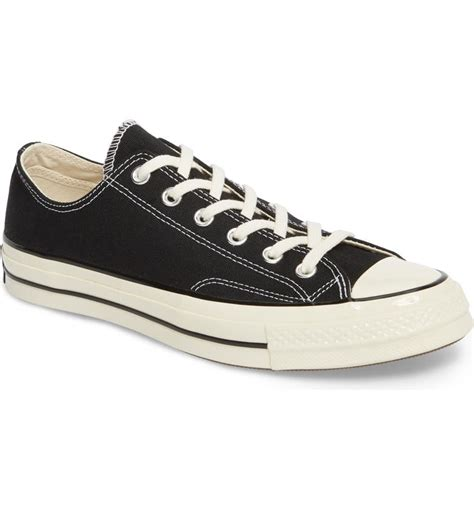 Chuck Taylor All Star Low Top, Black, 13 D(M)