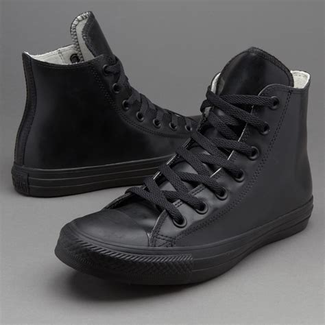 Chuck Taylor Black Rubber Converse Sneakers