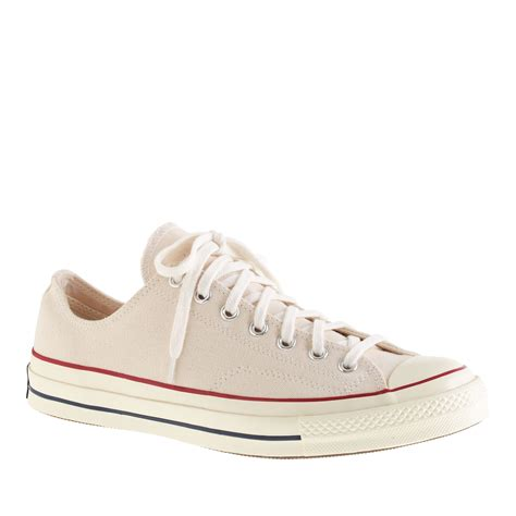Chuck Taylor Converse All Star Low Top Leather Sneaker Parchment