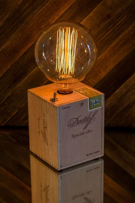 Cigar Box Lamp Diy Projects