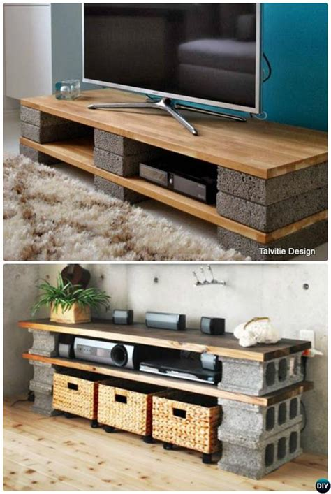 Cinder Block Tv Stand Diy