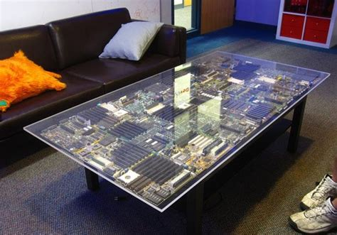Circuit Board Coffee Table DIY