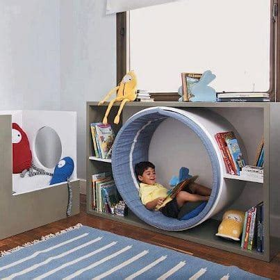 Circular Reading Nook Diy