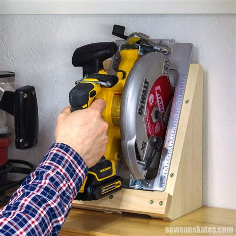 Circular Saw Storage Diy For Cubbies