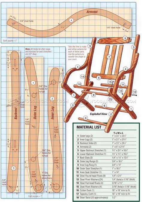Civil-War-Folding-Chair-Plans