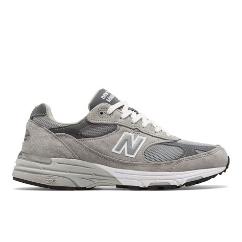 Classic Gray New Balance Sneakers Men