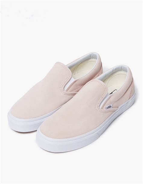 Classic Slip-On Shoes Sepia Rose