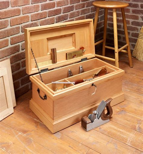 Classic Wooden Tool Box Plans