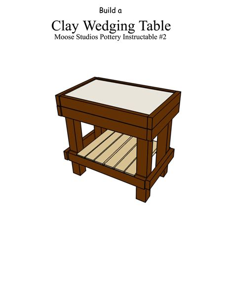 Clay-Wedging-Table-Plans