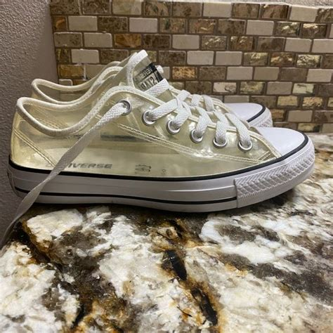 Clear Converse Sneakers