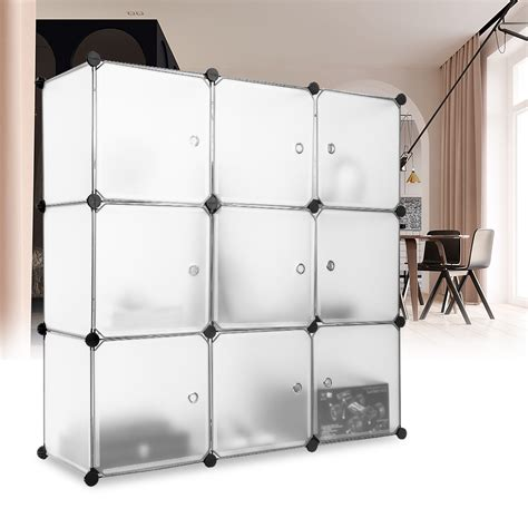 Clear Plastic Storage Cube