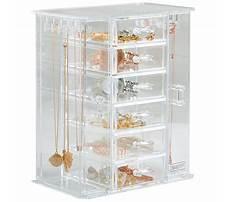 Best Clear jewelry box organizer