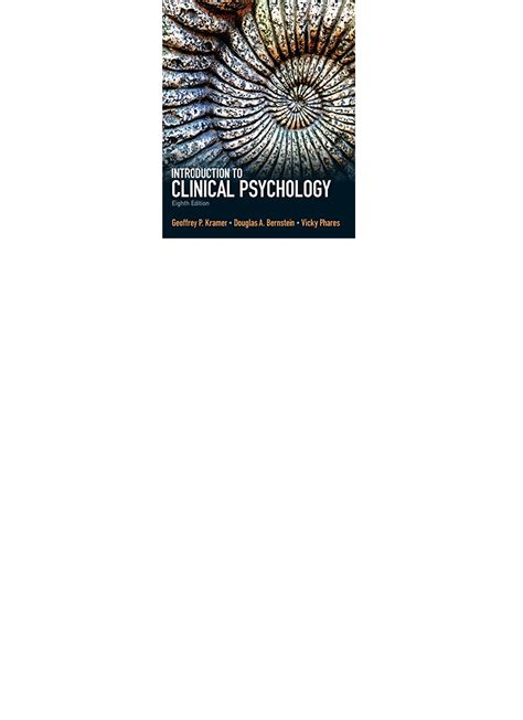 Clinical Psychology 8th Edition Pdf And The Psychology Of Judgment And Decision Making Pdf Download