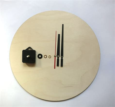 Clock Diy Kit Wood