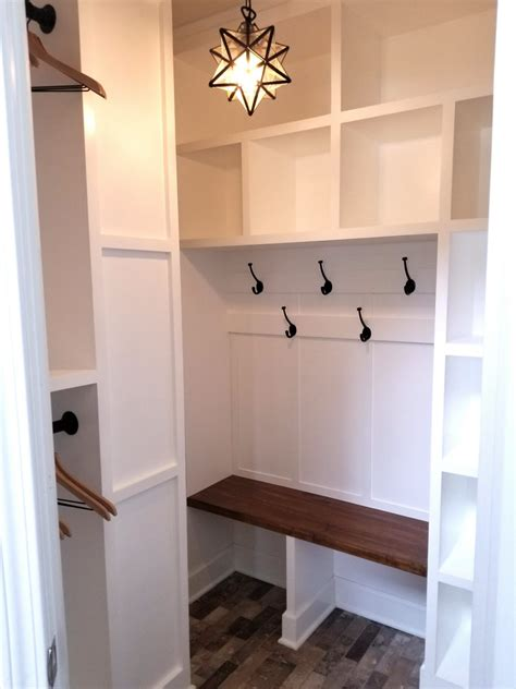 Closet Into Mudroom Plans