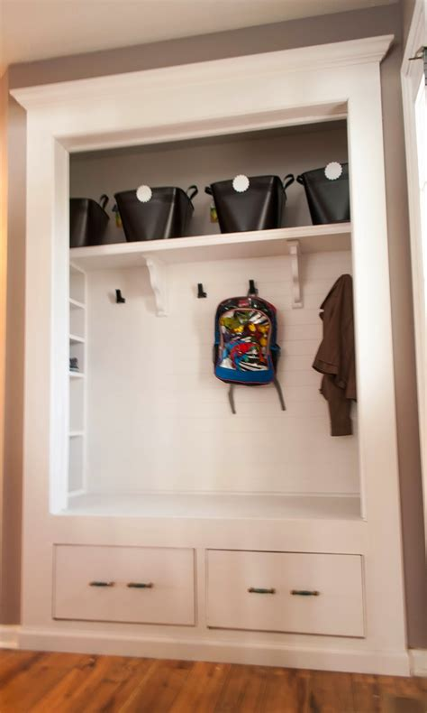 Closet Mudroom Plans