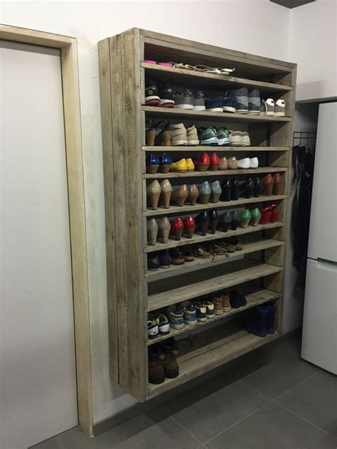 Closet Shoe Shelves Diy