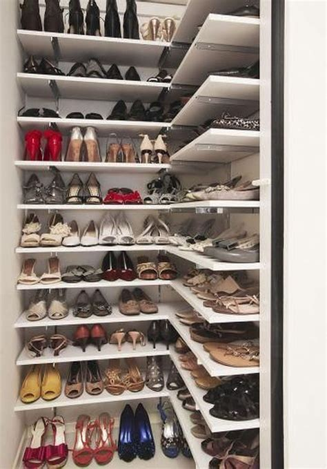 Closet Shoe Storage Plans