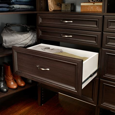 Closet Storage Drawers Wood
