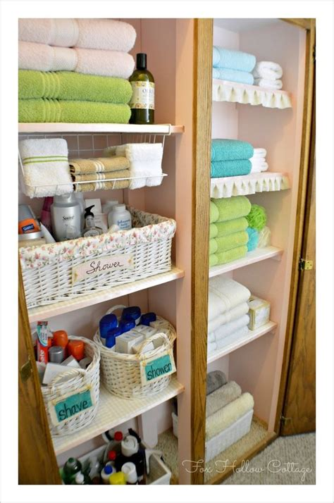 Closet Storage Organizing Diy Bathroom