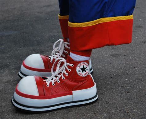 Clown Converse Sneakers