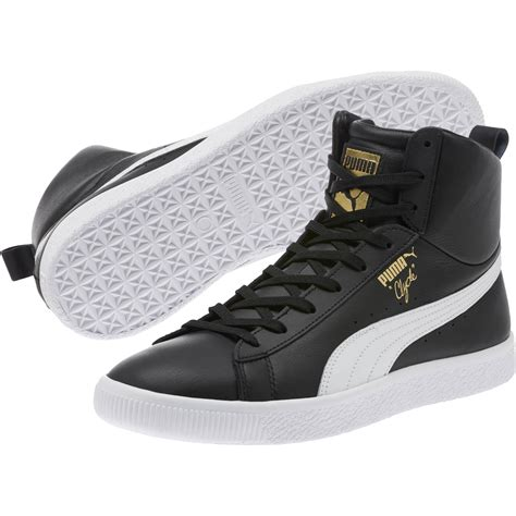 Clyde Leather Sneaker Kids Puma