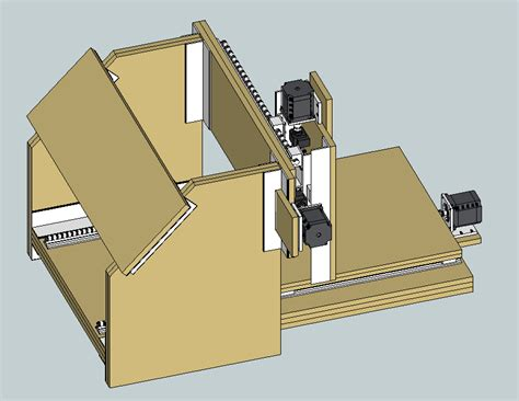 Cnc Router Plans Sketchup